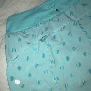 Polka dot lulu shorts